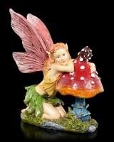 Fairy Figurine - Sarija with Mushroom
