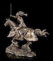 Ritter Figur auf Pferd mit erhobenem Schwert