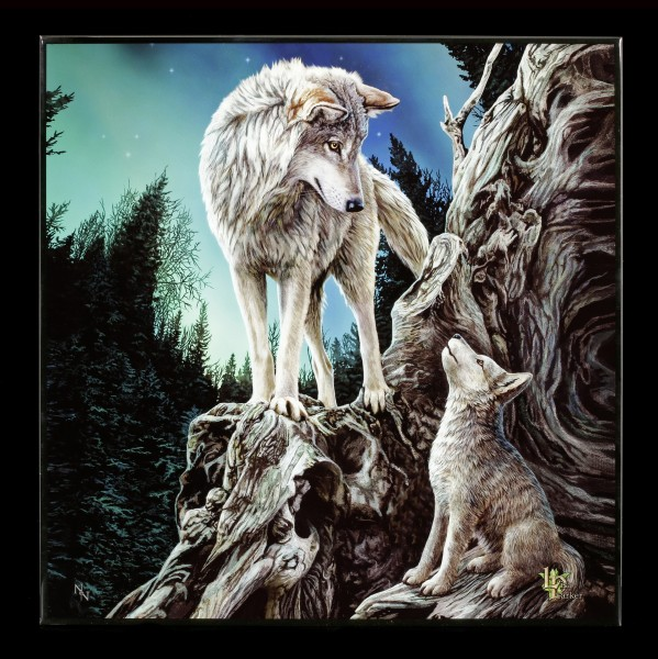 Large Crystal Clear Picture with Wolves - Guidance
