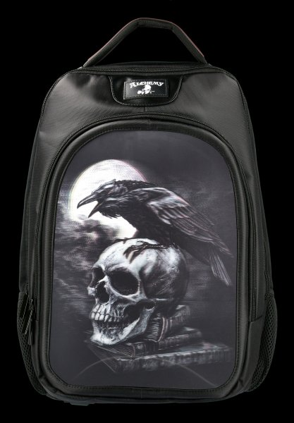 3D Backpack - Poe's Raven