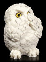 Figure - Three Wise Snowy Owls