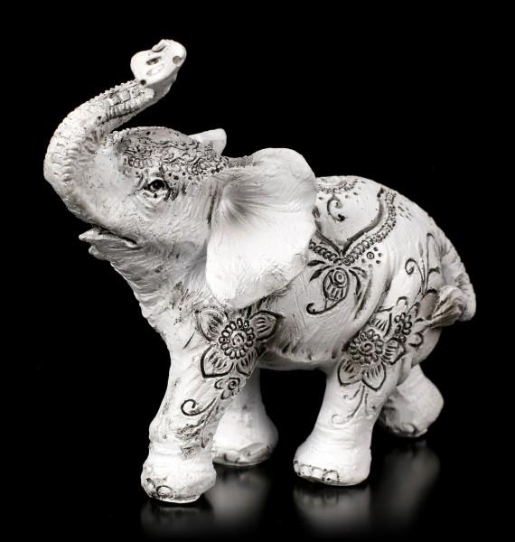 Elephant Figurines - Henna Harmony - Set of 2