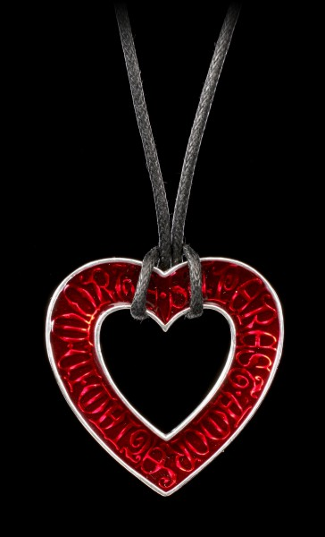 Alchemy Gothic Necklace - Love Over Death
