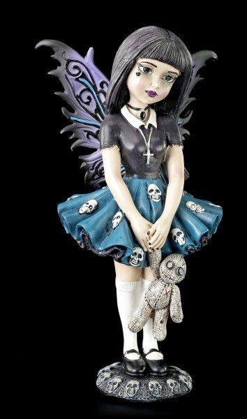 Gothic Fairy Figurine - Little Shadows - Noire