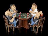 Funny Sports Figurines - Poker Night