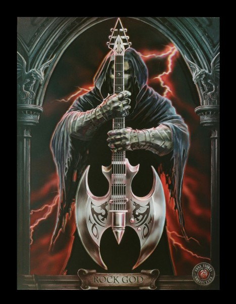 3D Picture with Reaper - Rock God