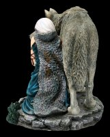Wolf Figur - Protector by Anne Stokes - limitiert