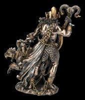 Hades Figur mit Kerberos