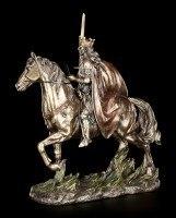 König Arthur Figur - Reitet in die Schlacht
