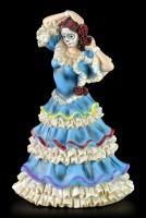 Flamenco Tänzerin - Day of the Dead - Blau