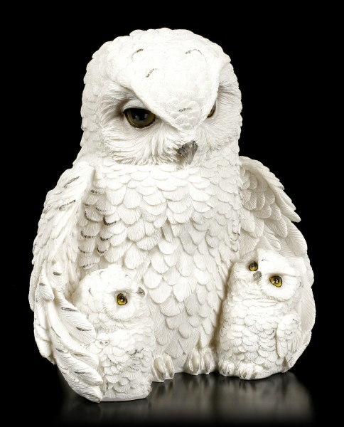 Owl Figurine - Feathered Family