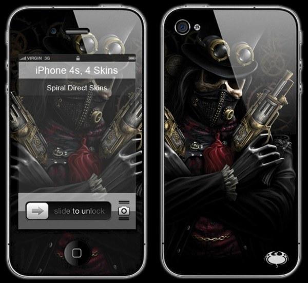 Fantasy Smartphone Skin - Steam Punk Bandit