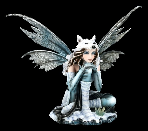 Fairy Figurine - Lupa on Ice