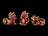 Mini Drachen Figuren - 12er Set