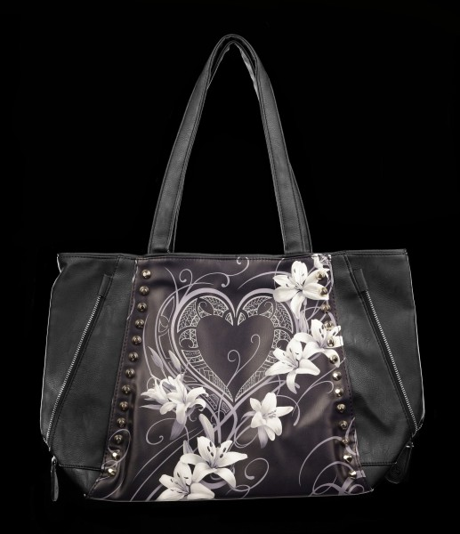 Faux Leather Bag - Pure of Heart
