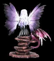 Fairy Figurine - Viola with Dragon Child