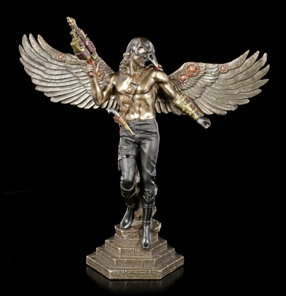 Steampunk Figurine - Masked Angel