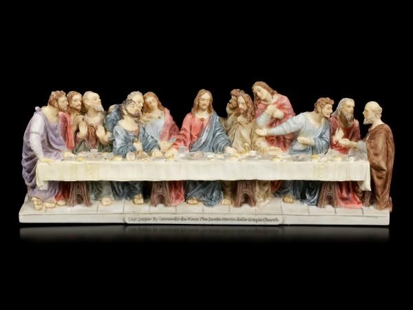 The Last Supper by Leonardo da Vinci - colored