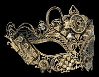 Steampunk Mask - Tekno-Queen