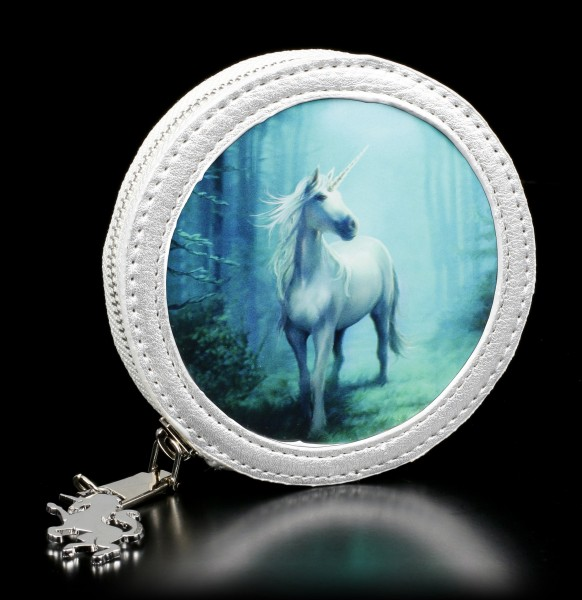 3D Münzgeldbörse mit Einhorn - Forest Unicorn