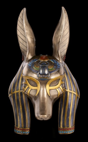 Anubis Mask - Egyptian God of Death Rituals