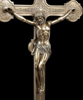 Large Crucifix with Jesus - Table Cross