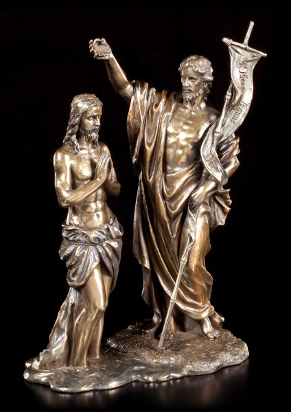 Jesus Figur - Taufe durch Johannes