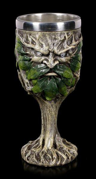 Wildwood Goblet - Greenman