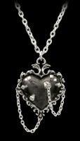 Alchemy Gothic Necklace - Witches Heart