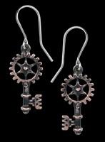 Alchemy Steampunk Ohrringe - Clavitraction