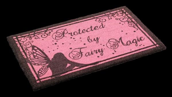 Fantasy Doormat - Protected by Fairy Magic