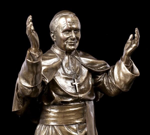 Papst Johannes Paul II Figur