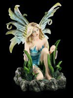 Fairy Figurine - Kneeling on Pond