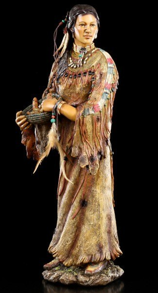 Indianer Figur - Indianerin Amitola