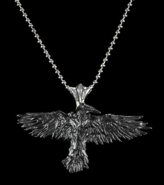 Black Raven - Alchemy Gothic Halskette