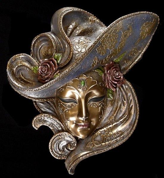 Venetian Mask - Rosa