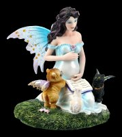 Pregnant Fairy Figurine - Mothers Love