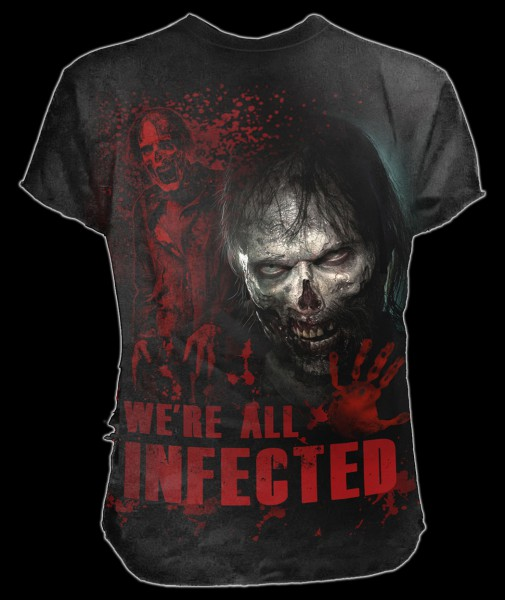T-Shirt - The Walking Dead - Zombie All Infected