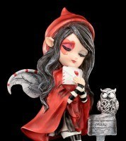 Fairy Figurine with Owl - Missing You