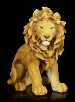 Large Lion Figurine - Sitting
