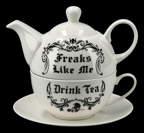 Tee for One Set - Freaks Like Me Drink Tea