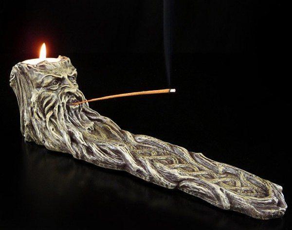 Greenman Incense Burner