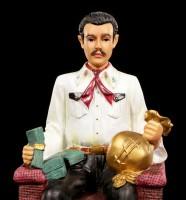 Jesus Malverde Figurine