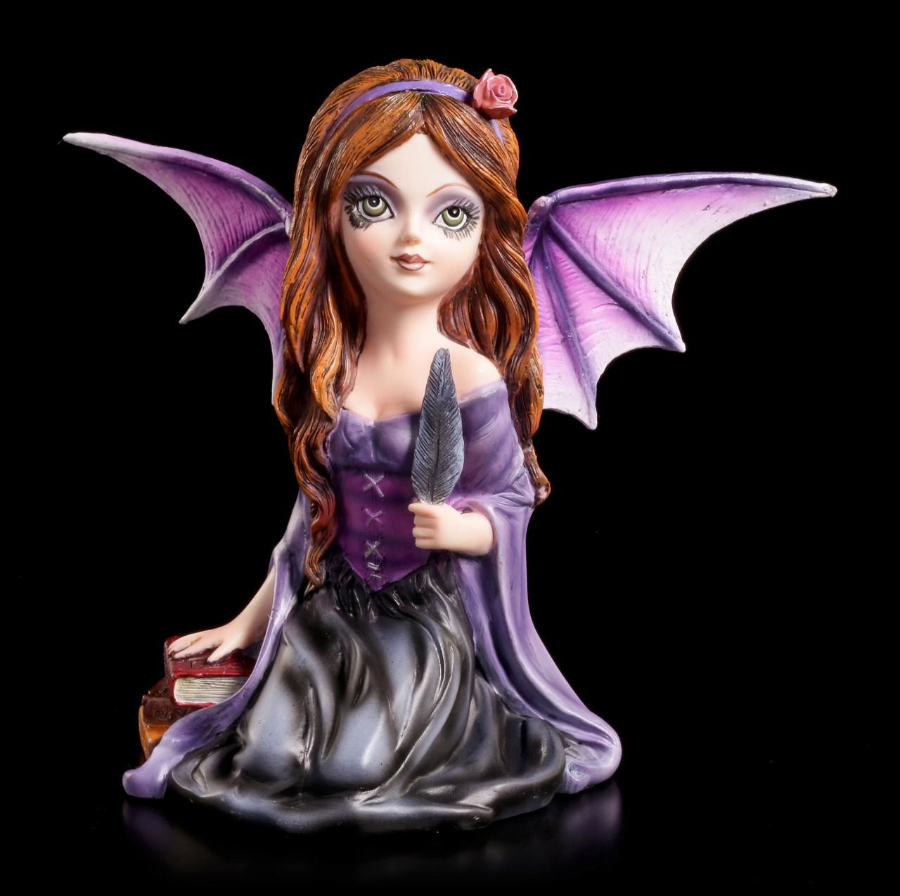 Dark Angel Figur - Astrid mit Feder