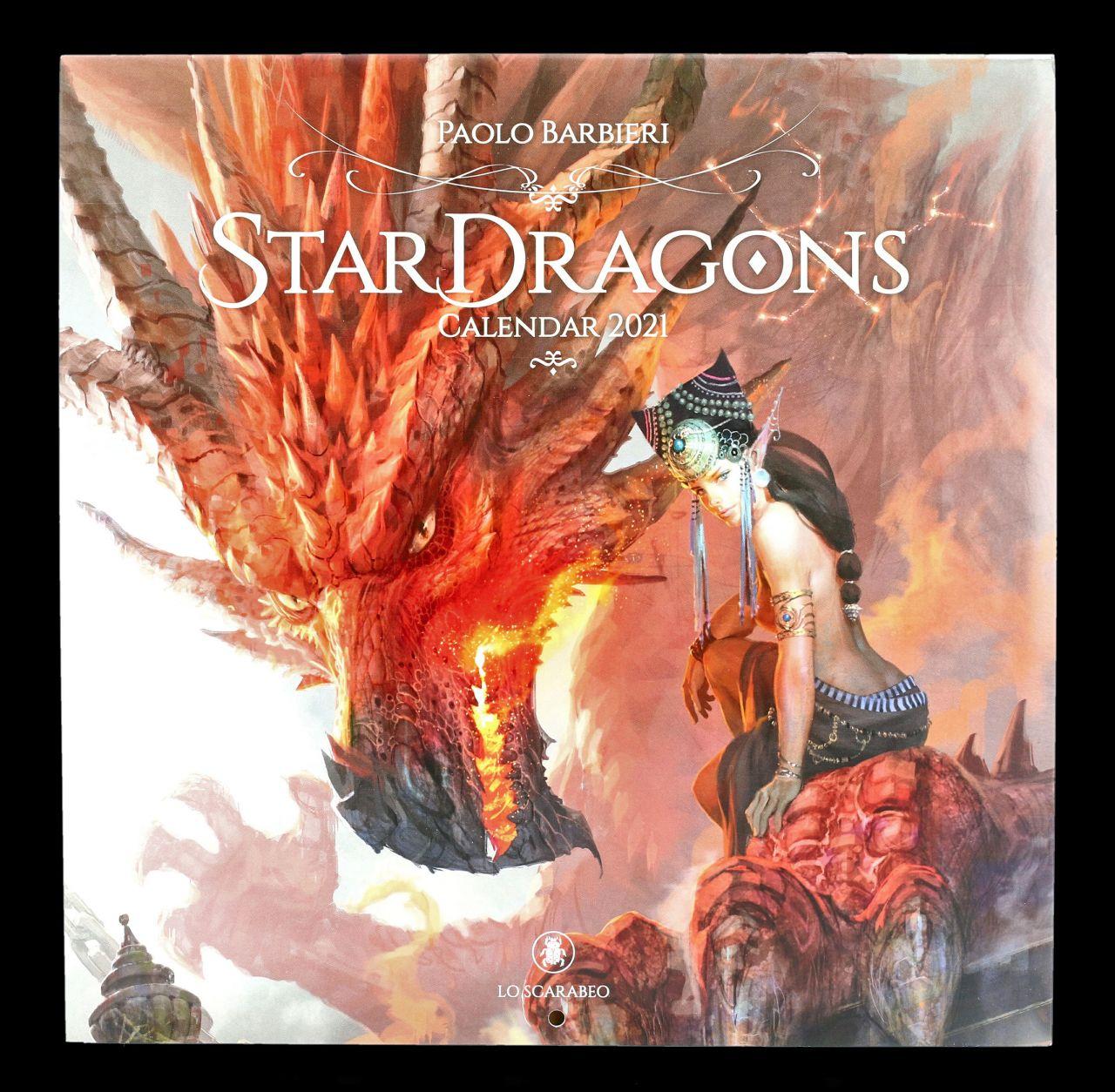 Fantasy Drachen Kalender 2021 - Stardragons