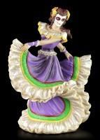 Flamenco Dancer - Day of the Dead - Purple