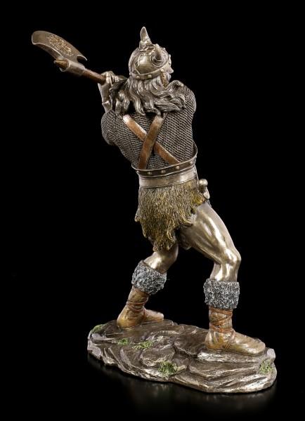 Wikinger Figur mit Axt und Rüstung