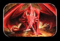 Metall Dose mit Drache - Dragon's Lair by Anne Stokes