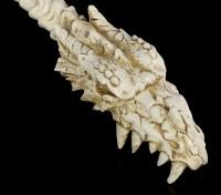 Rückenkratzer - Drachen Totenkopf