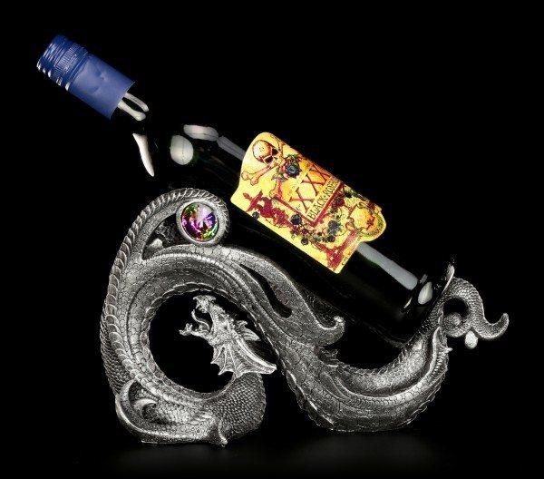 Flaschenhalter - Drachen Wirbel